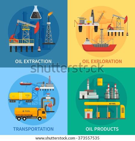 Olie petroleum industrie producten vervoer industriële Stockfoto © robuart