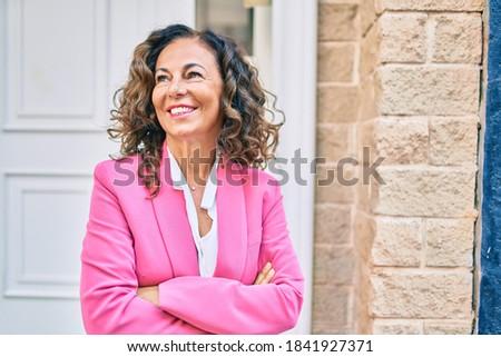 directeur · affaires · ordinateur · femme · réunion · affaires - photo stock © photography33