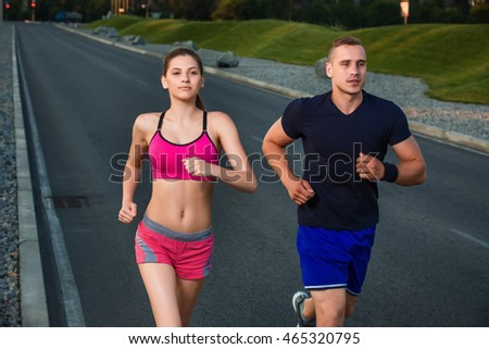 Couple in build up area Stock photo © photography33
