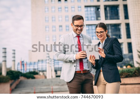 Female business suit - collar and a tie Stock photo © pzaxe