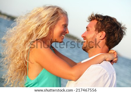 Stock photo: Sexy blond woman on the beach