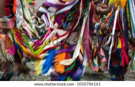 közelkép · nő · szamba · táncos · derűs · pózol - stock fotó © stockyimages
