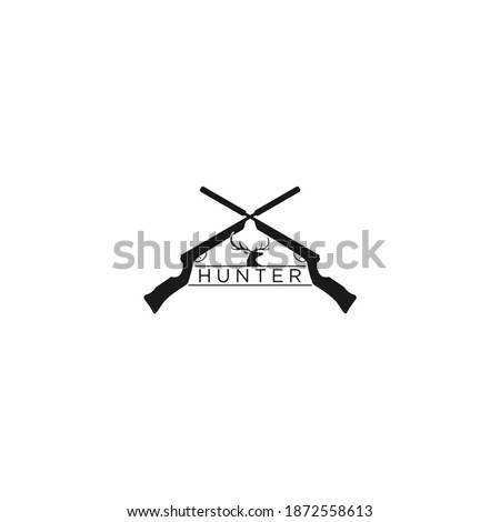 Icon of hunting gun Stock photo © angelp