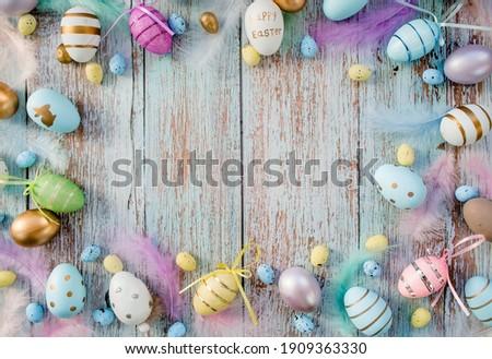 Foto stock: Páscoa · tempo · ovos · primavera · natureza · ovo