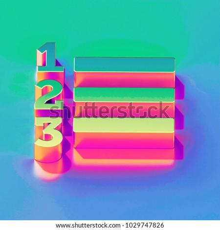 clipboard with sales process concept 3d stock photo © tashatuvango