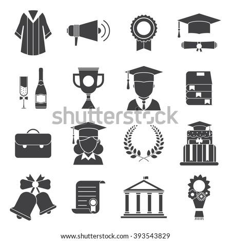 érettségi szertartás skicc illusztráció diplomás lány Stock fotó © Blue_daemon