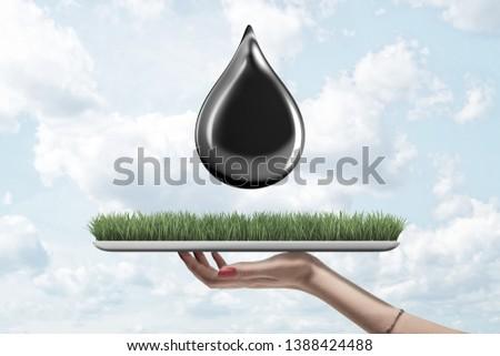 Environmental problems on white background. Isolated 3D illustra Stock photo © ISerg