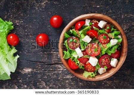 томатный · бальзамического · уксуса · продовольствие · лист · здоровья - Сток-фото © tycoon