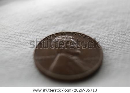 penny · kép · Egyesült · Államok · érme · tapéta · művészet - stock fotó © johnkwan