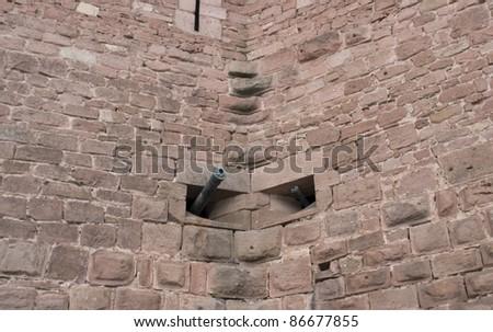 Kasteel detail historisch Frankrijk tonen twee Stockfoto © prill