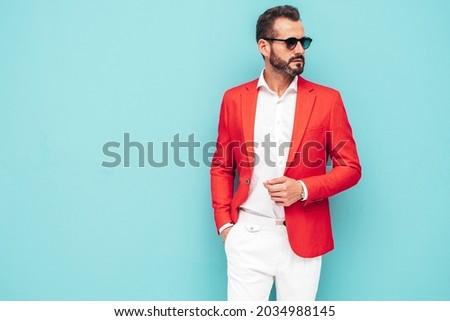 Szexi férfias férfi szívós néz férfi Stock fotó © curaphotography