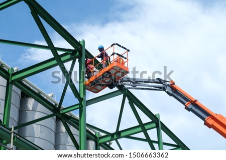 Articulated crane arm Stock photo © photography33