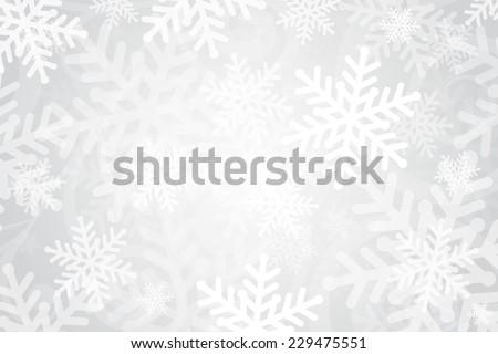 Gümüş kar taneleri sınır örnek şeffaflık eps10 Stok fotoğraf © ori-artiste