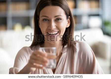Közelkép portré fiatal sport nő tökéletes Stock fotó © deandrobot