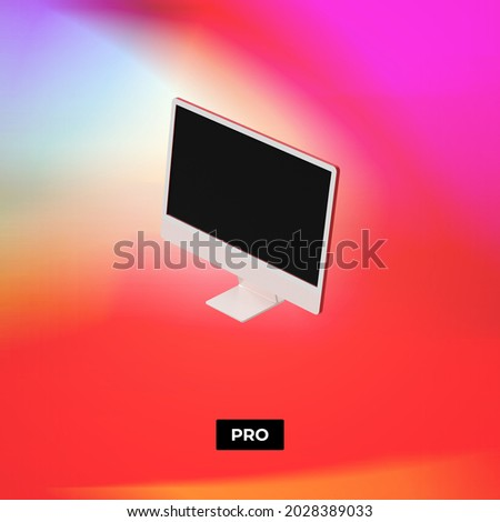 Infographics design with Polaroid frames Stock photo © saicle