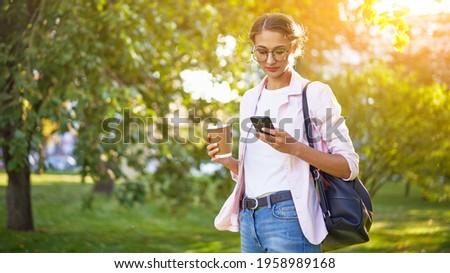 大学生 · 徒歩 · ビジネス · 道路 · 通り · ビジネスマン - ストックフォト © deandrobot