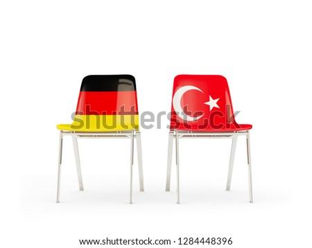 bayrak · Türkiye · beyaz · kültür · nesneler · afiş - stok fotoğraf © mikhailmishchenko