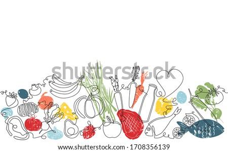 resumen · alimentos · blanco · placa · gris · mesa · de · cocina - foto stock © neirfy