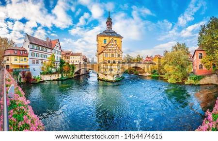 Rose Garden, Bamberg, Germany Stock photo © borisb17