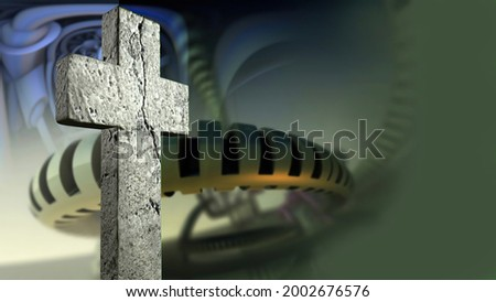 stations of the cross no 3 Stock photo © morrbyte