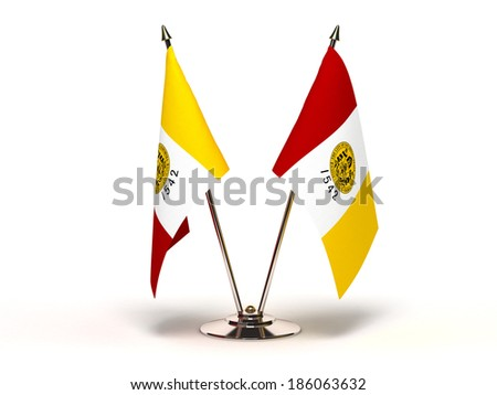 miniatuur · vlag · San · Diego · Californië · geïsoleerd - stockfoto © bosphorus
