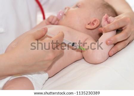 Как сделать прививку ребенку без слез