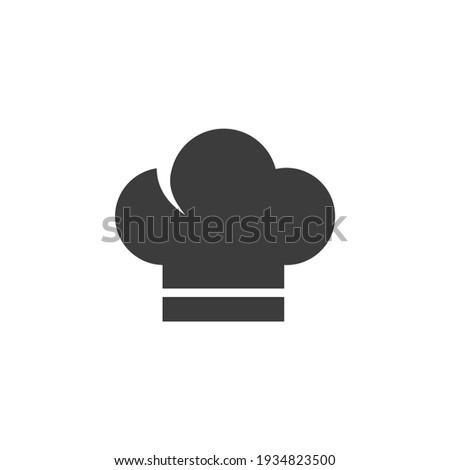 szakács · kalap · vektor · ikon · művészet · étterem - stock fotó © ylivdesign