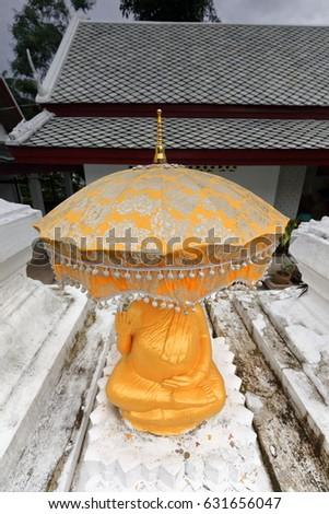 Guarda-sol bronze Japão Foto stock © Hofmeester