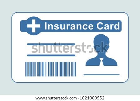 медицинской страхования карт икона вектор икона стиль Сток-фото © ahasoft