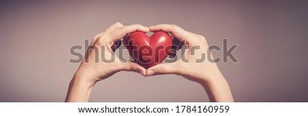 Világ vér donor nap ünneplés szalag Stock fotó © barsrsind
