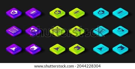 Ketrec majmok izometrikus 3D ikon nyilvános Stock fotó © studioworkstock
