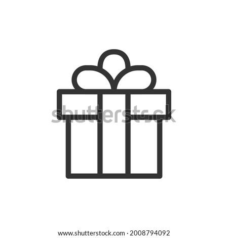 Diamond outline icon set, modern minimal flat design style, thin line vector illustration with edita Stock photo © kyryloff
