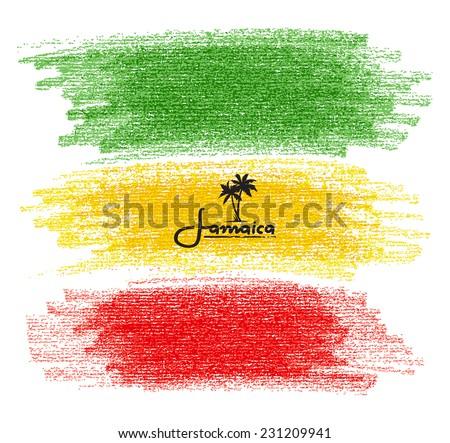 Kézzel rajzolt szín rajz szakáll cigaretta poszter Stock fotó © netkov1