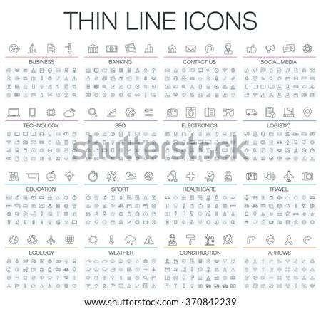 building icon set Stock photo © ayaxmr