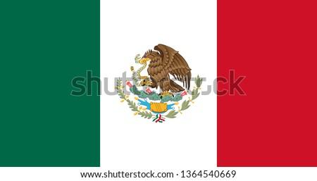 мексиканских флаг белый любви город сердце Сток-фото © butenkow