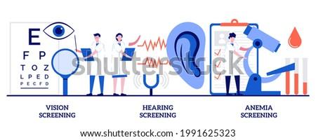 Anemia screening abstract concept vector illustration. Stock photo © RAStudio