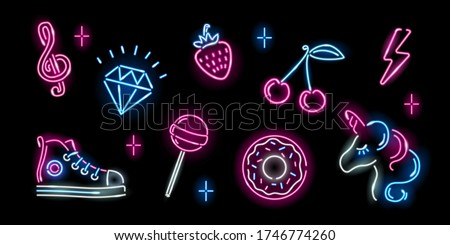 Pink Glossy Horse Icon Stock photo © cidepix