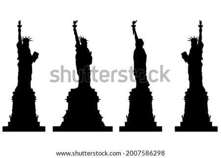 torch in different position isolated stock photo © jordanrusev