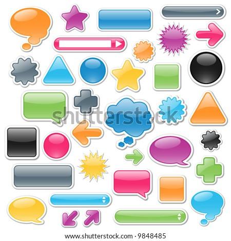 Sturen paars vector icon knop internet Stockfoto © rizwanali3d