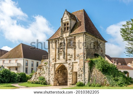 Stock photo: Auxonne town gate in France