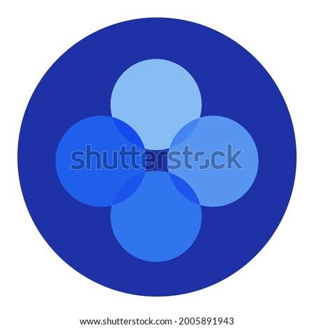 - Okex. The Crypto Coins or Cryptocurrency Logo. Stock photo © tashatuvango