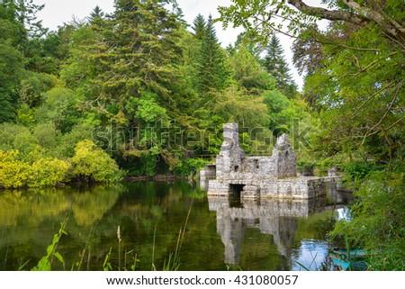 Cong Abbey, Ireland Stock photo © borisb17