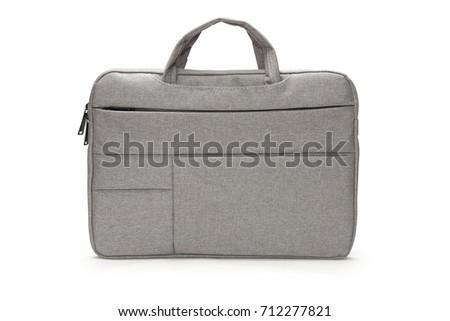 Laptop bag isolated on white Stock photo © ozaiachin