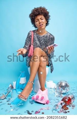 女性 · 脚 · トイレ · ボウル · セクシー · 黒 - ストックフォト © nobilior