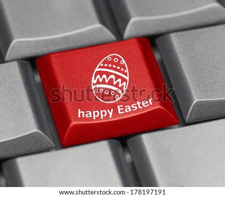 Христос воскрес текста кнопки клавиатура ключами интернет Сток-фото © fotoscool