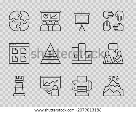 fax · icon · computer · papier · internet · technologie - stockfoto © wittaya