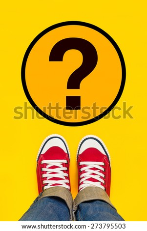 muitos · perguntas · curioso · adolescente · adolescente · pensando - foto stock © stevanovicigor