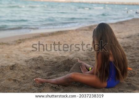 portrait · solitaire · séance · séduisant · seuls - photo stock © roboriginal