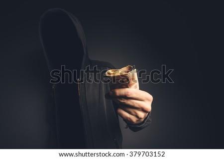 számítógép · bűnöző · kéz · középkorú · felnőtt · férfi · tart - stock fotó © stevanovicigor