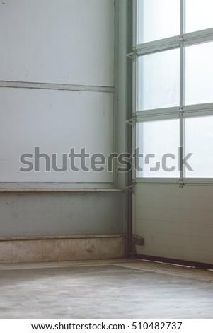 Photo stock: Vide · entrepôt · intérieur · détail · lumière · porte